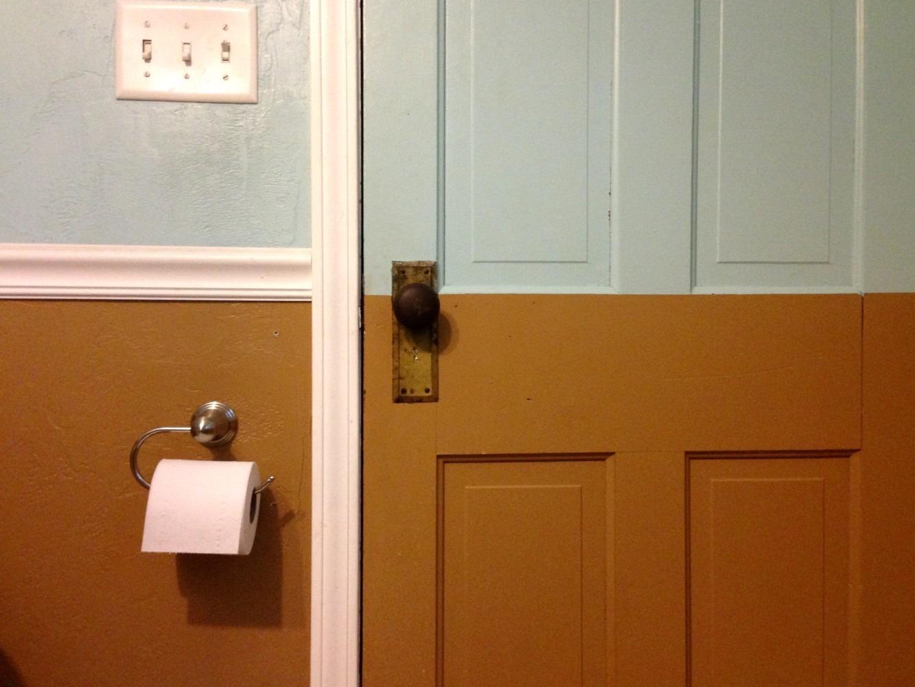 004 – Through The Bathroom Door